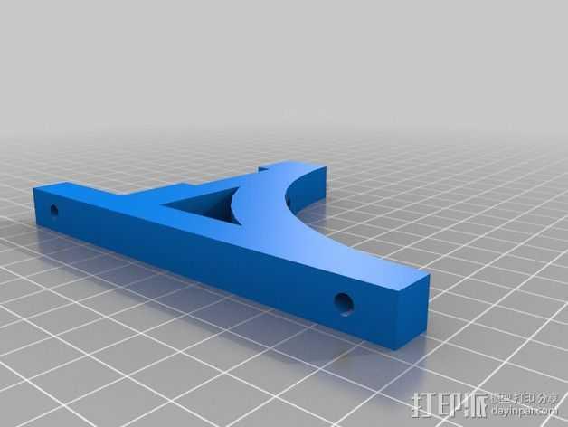铁路配件 3D打印模型渲染图