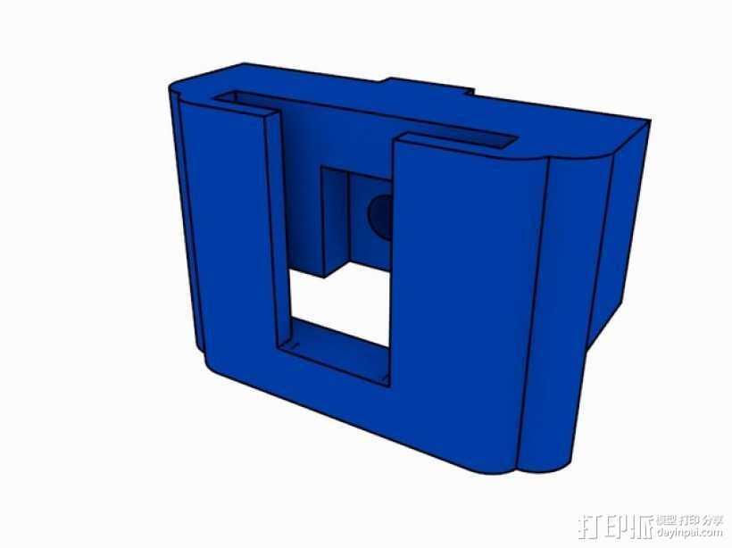 SD卡存储器 3D打印模型渲染图
