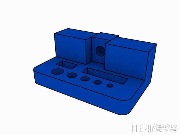 打印机支撑配件 3D打印模型渲染图