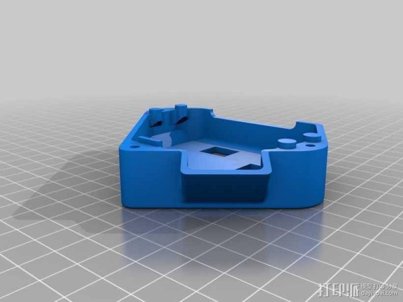 单框架 3D打印模型渲染图