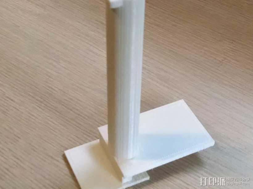 线轴架 replicator 2x 3D打印模型渲染图