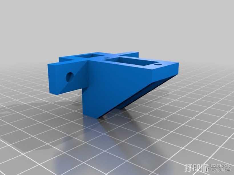 伺服器SP900 3D打印模型渲染图