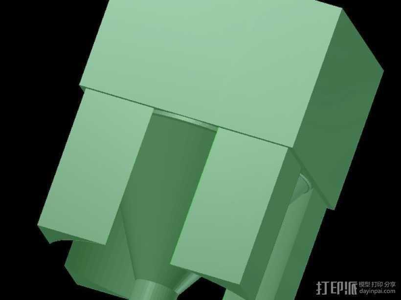 灯丝挤出器 3D打印模型渲染图