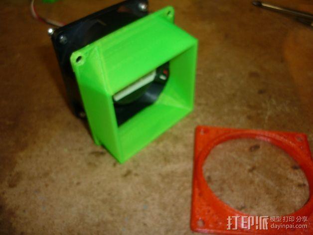 参数风机管 3D打印模型渲染图