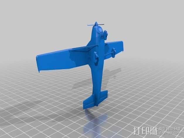 Cessna 172摆件 3D打印模型渲染图