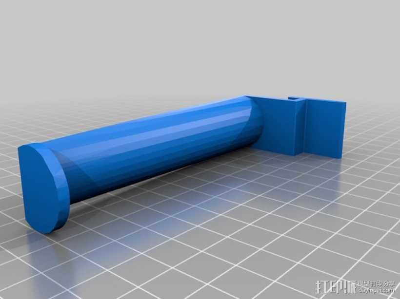 替换线轴架 3D打印模型渲染图