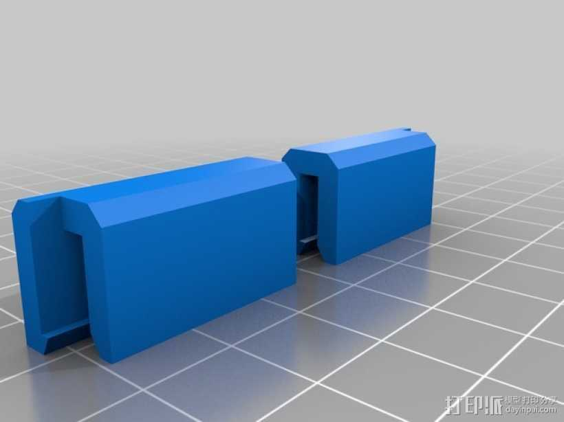 加热板支架 3D打印模型渲染图