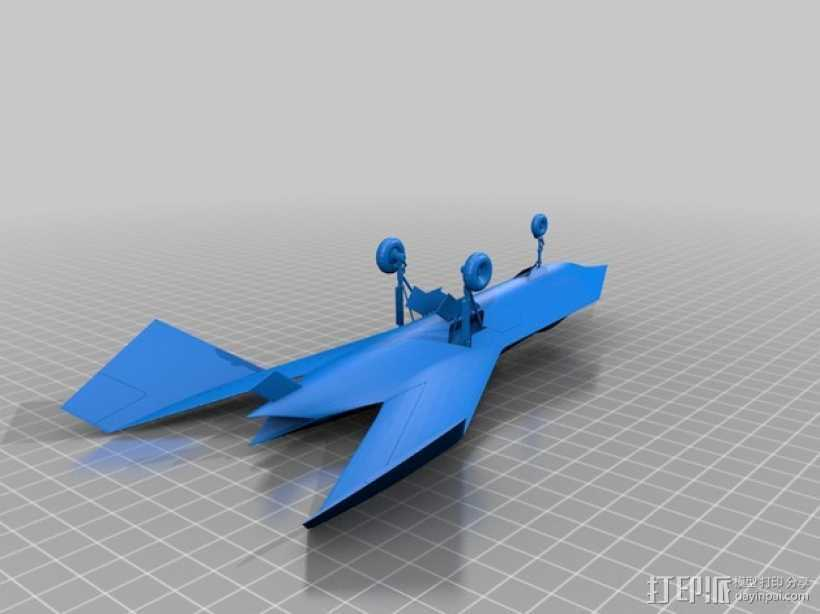 波音 摆件 3D打印模型渲染图