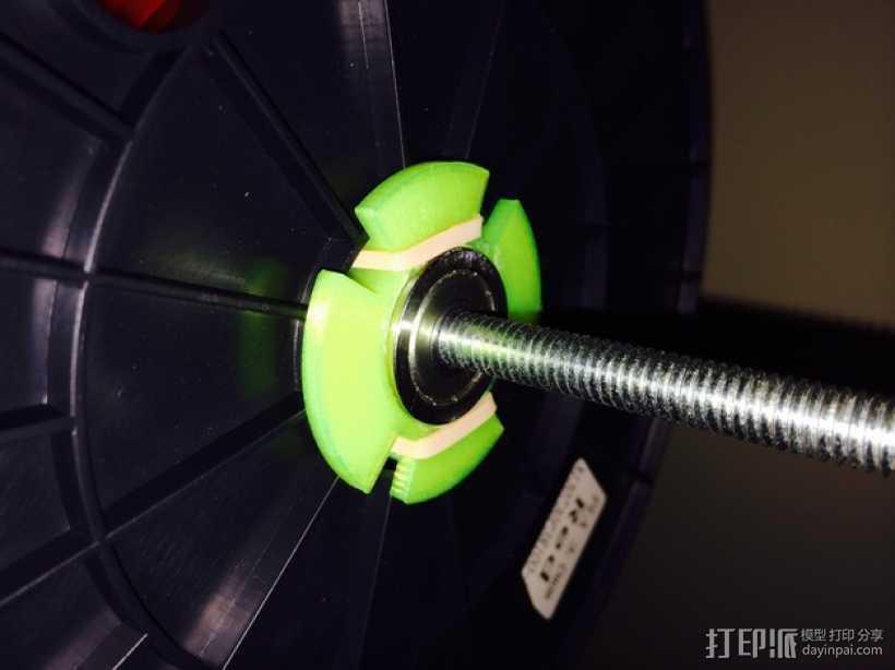 拖动线轴                3D打印模型渲染图