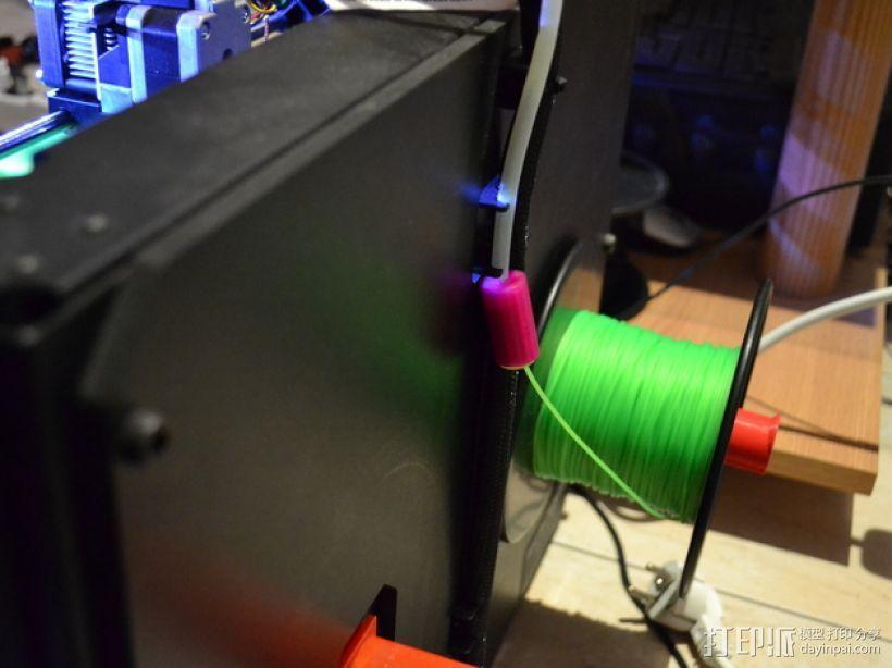 线材滤尘器 线材清洁器 3D打印模型渲染图
