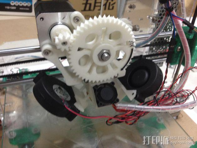 I3打印机的风扇 3D打印模型渲染图