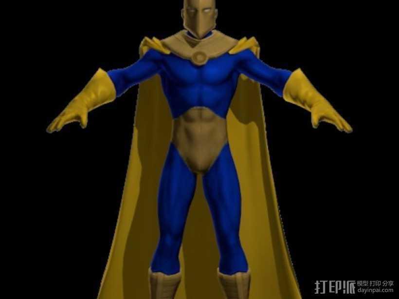 Doctor Fate人物造型 3D打印模型渲染图