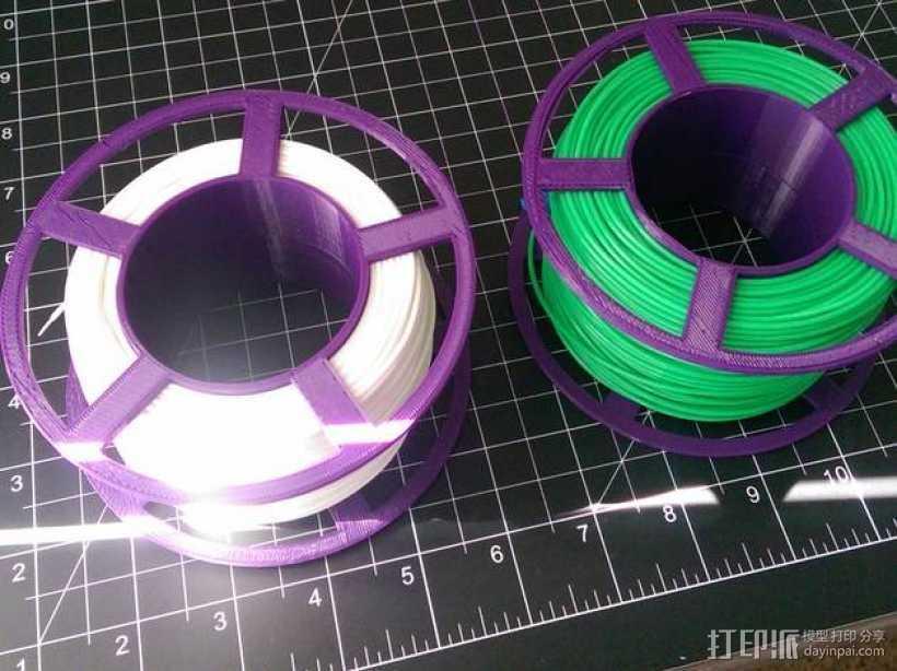 小型线轴 3D打印模型渲染图