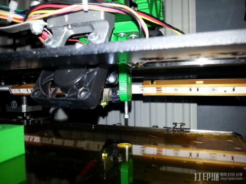 效应器支架 3D打印模型渲染图