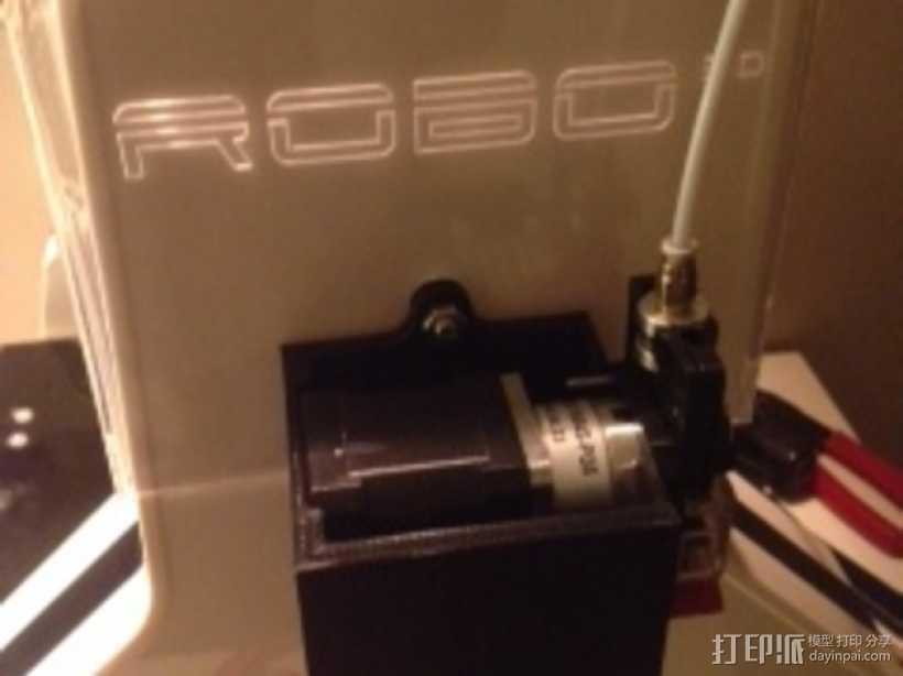 风扇马达支架 3D打印模型渲染图
