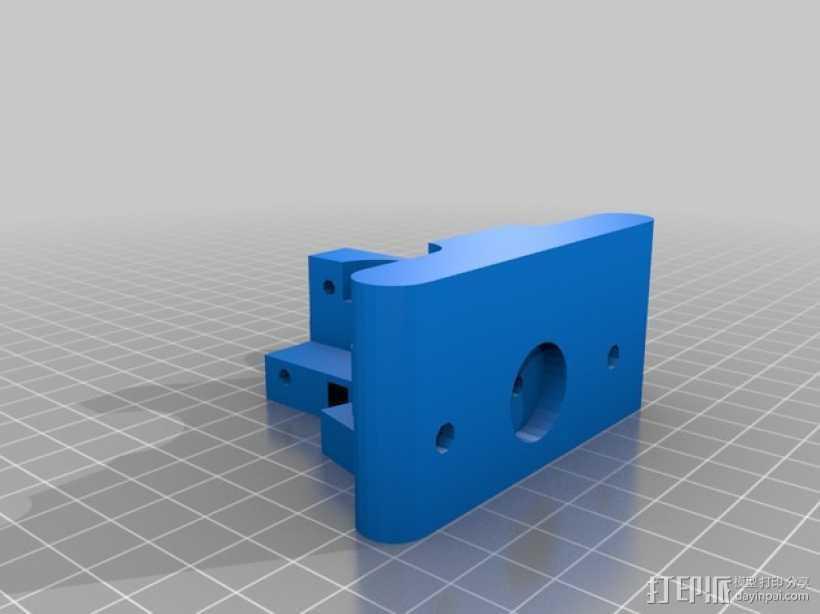 Greg's wade挤出机的支架 3D打印模型渲染图