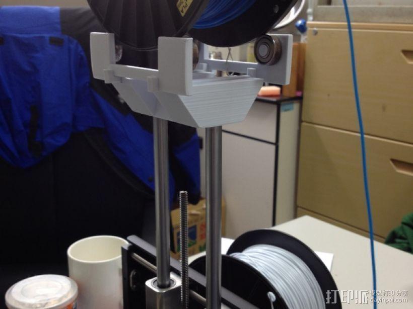 打印机顶部的工具架 3D打印模型渲染图