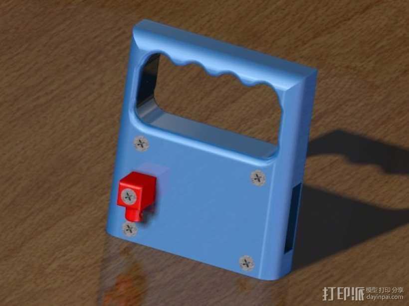 PRUSA I3打印机的控制面板 3D打印模型渲染图