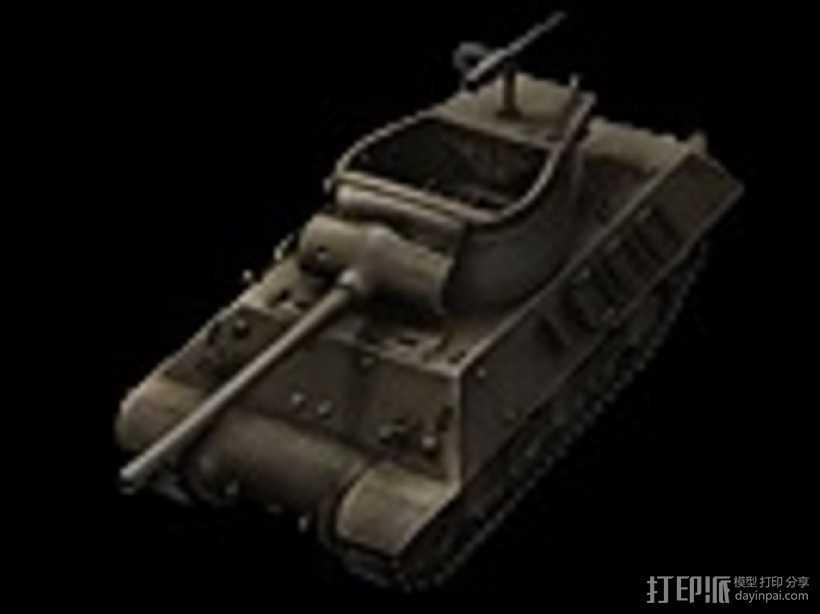 M36坦克歼击车 3D打印模型渲染图