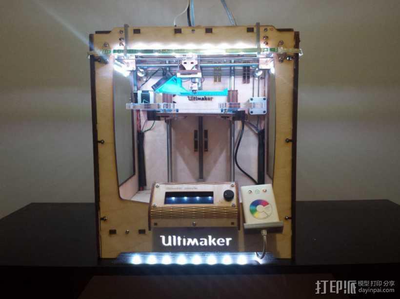 LED灯固定架 框架 3D打印模型渲染图