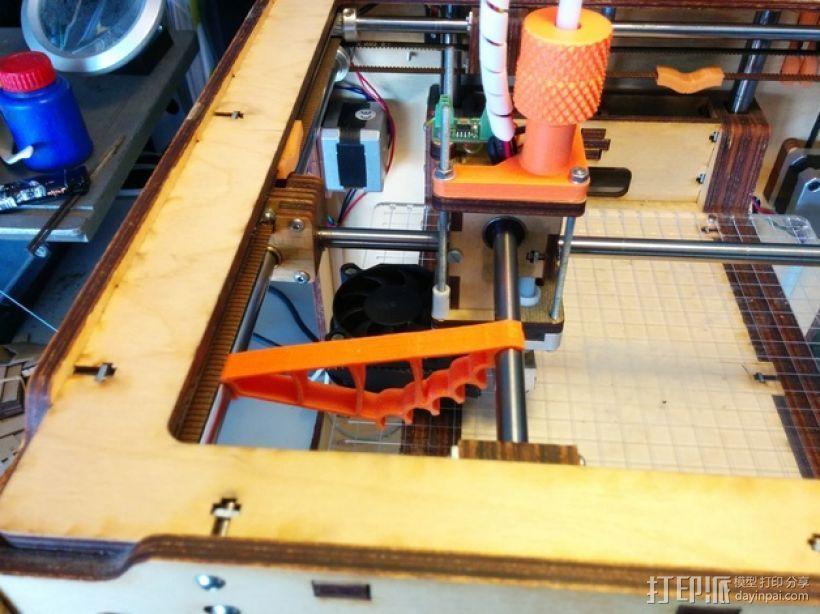 Protobox / Ultimaker 打印机轴调整器 3D打印模型渲染图