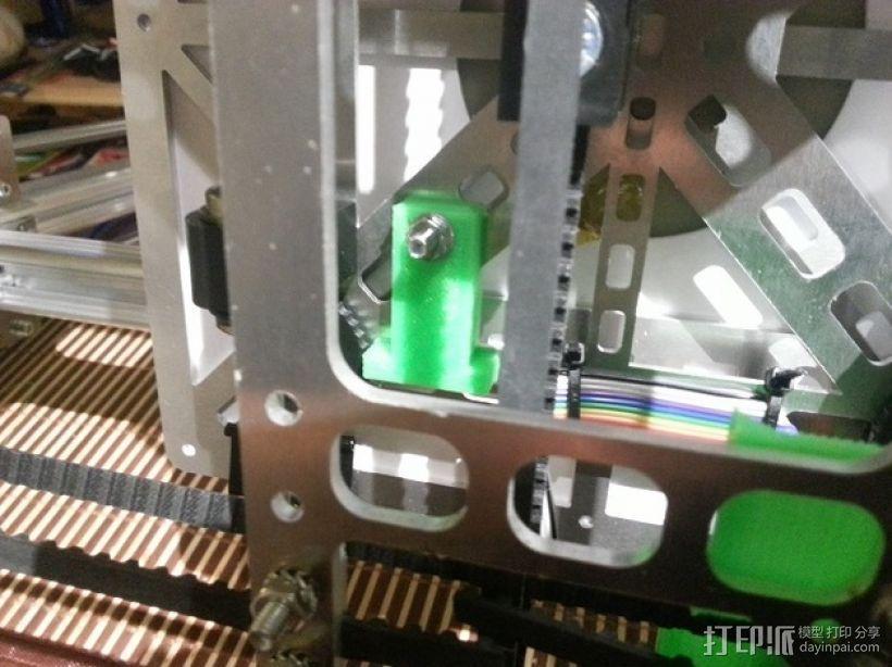 限位开关 3D打印模型渲染图