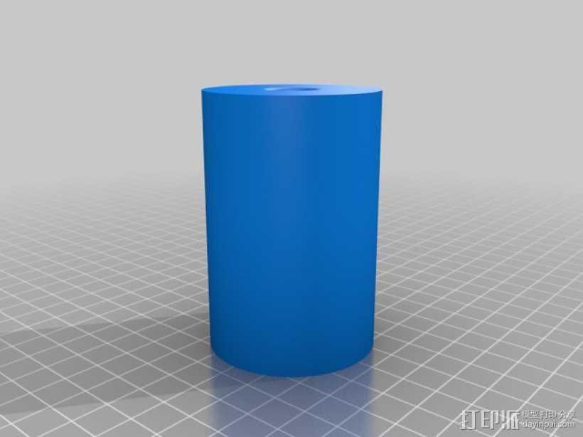 通用式的线轴架垫圈 3D打印模型渲染图