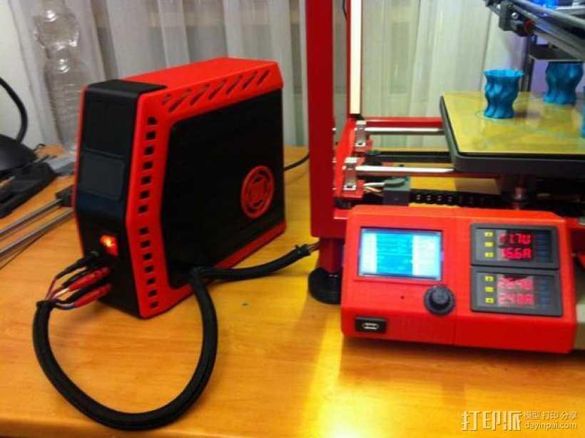 电源保护罩 3D打印模型渲染图