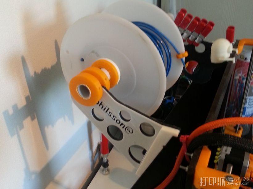 线材架 3D打印模型渲染图
