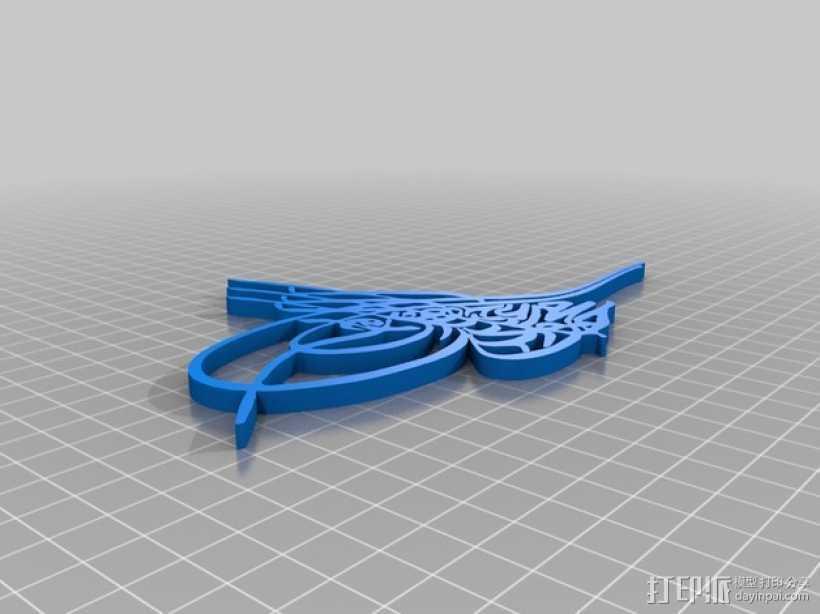 奥特曼 Tugra 3D打印模型渲染图