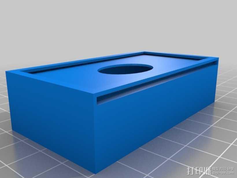 多功能夹子 3D打印模型渲染图
