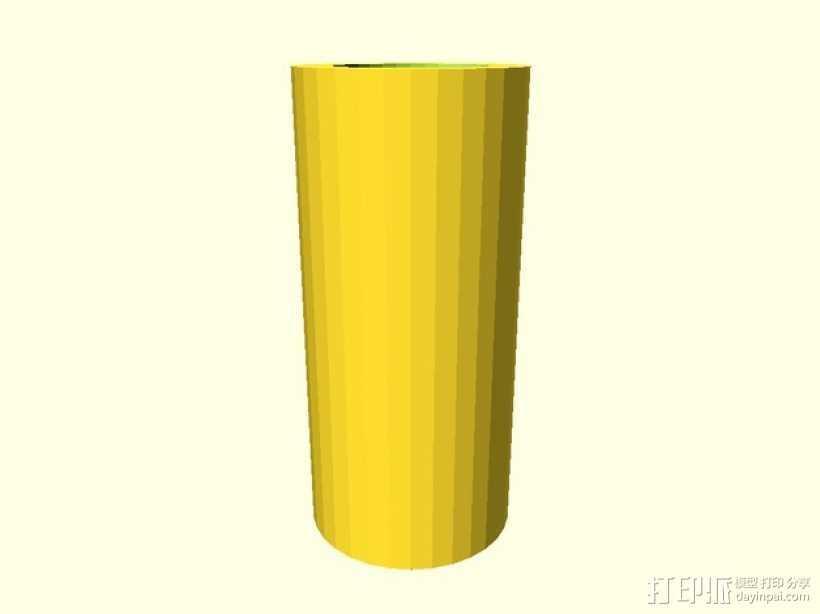 参数化间隔板 3D打印模型渲染图