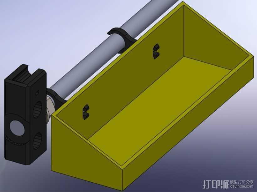 Prusa I3工具盒 3D打印模型渲染图