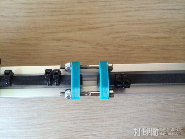 拉紧器 3D打印模型渲染图