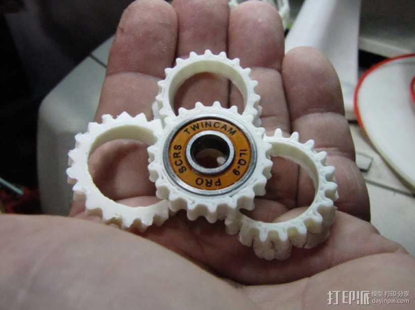 T形轴承 3D打印模型渲染图