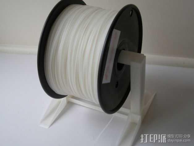 桌面线轴架 3D打印模型渲染图