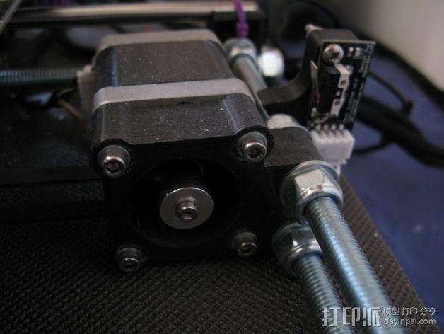 Prusa i3 Y轴适配器 3D打印模型渲染图