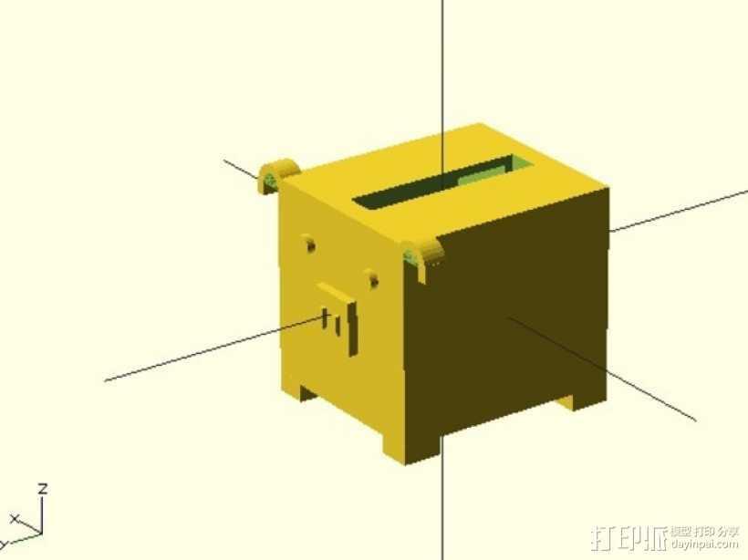 存钱罐 3D打印模型渲染图