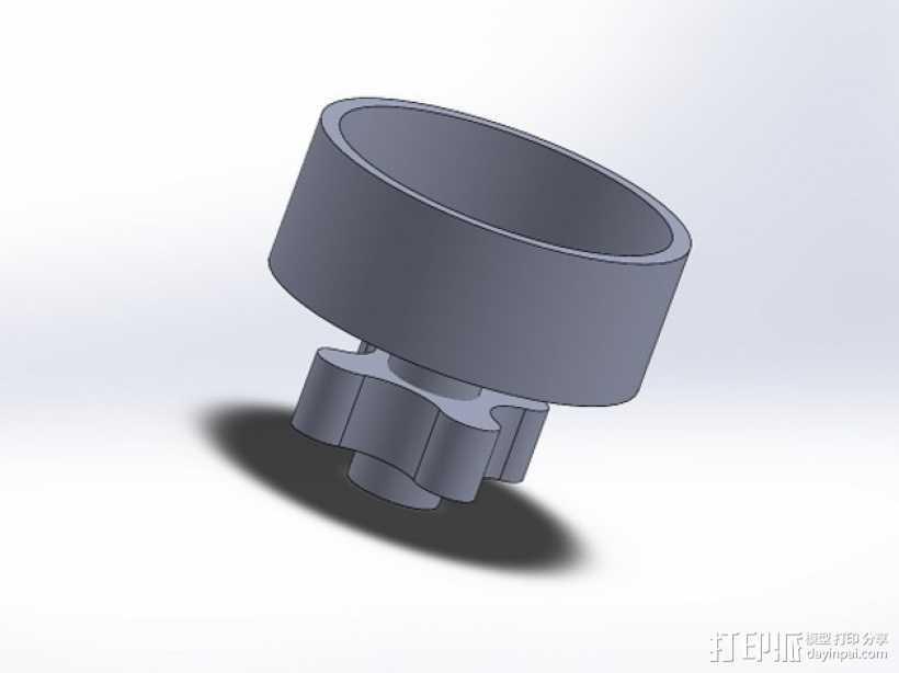 Max V2 3D打印模型渲染图