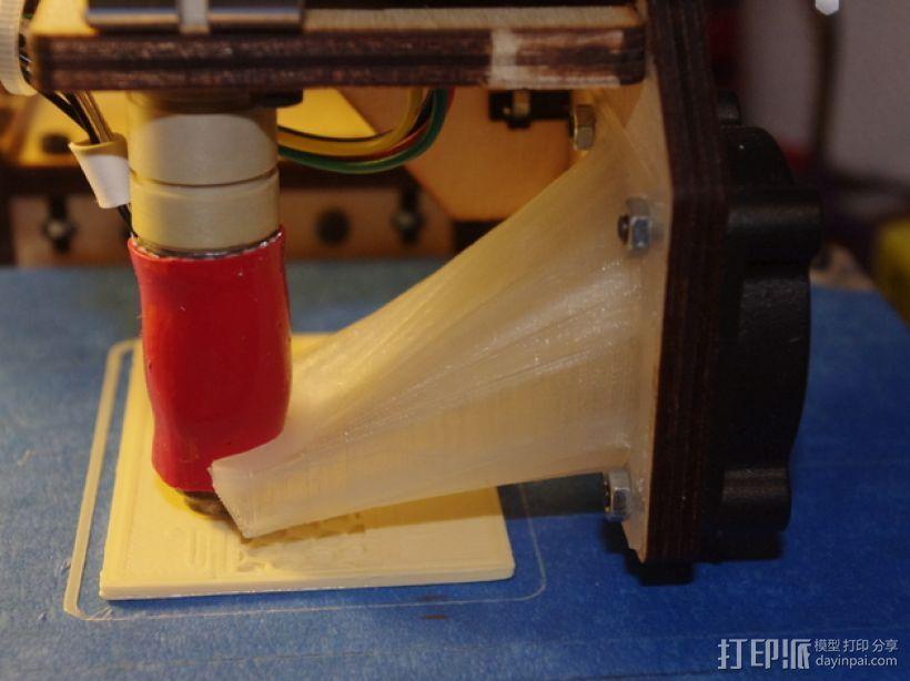 风扇架 3D打印模型渲染图