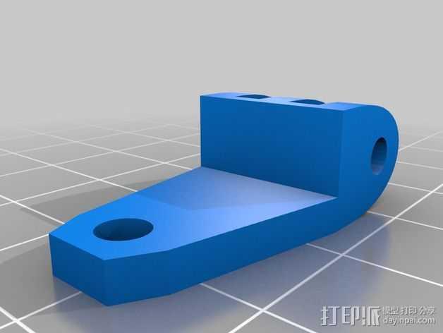 风机管道支撑 3D打印模型渲染图
