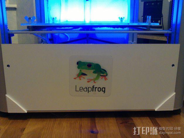 方形框架 3D打印模型渲染图