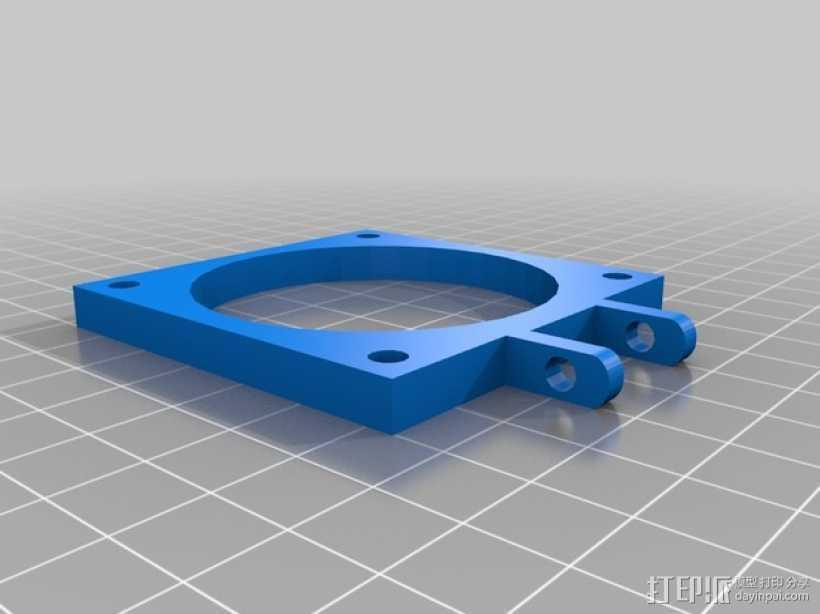Prusa I3 风扇 3D打印模型渲染图