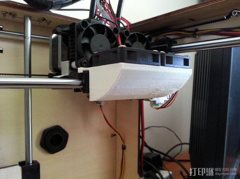 冷风扇 3D打印模型渲染图