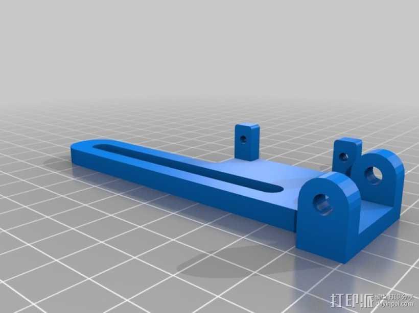 伺服器适配器 3D打印模型渲染图