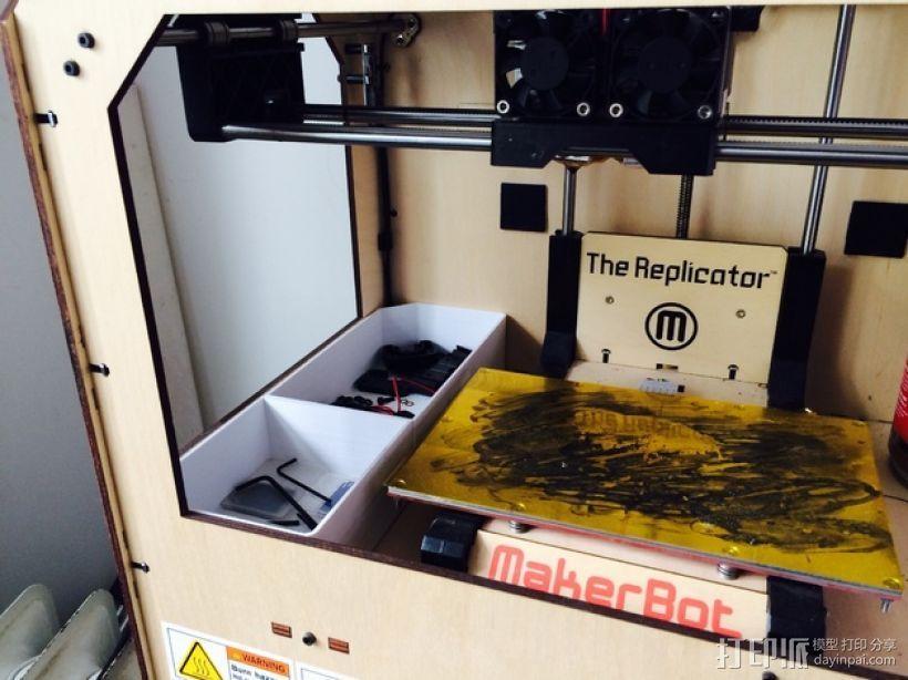 双存储盒 3D打印模型渲染图