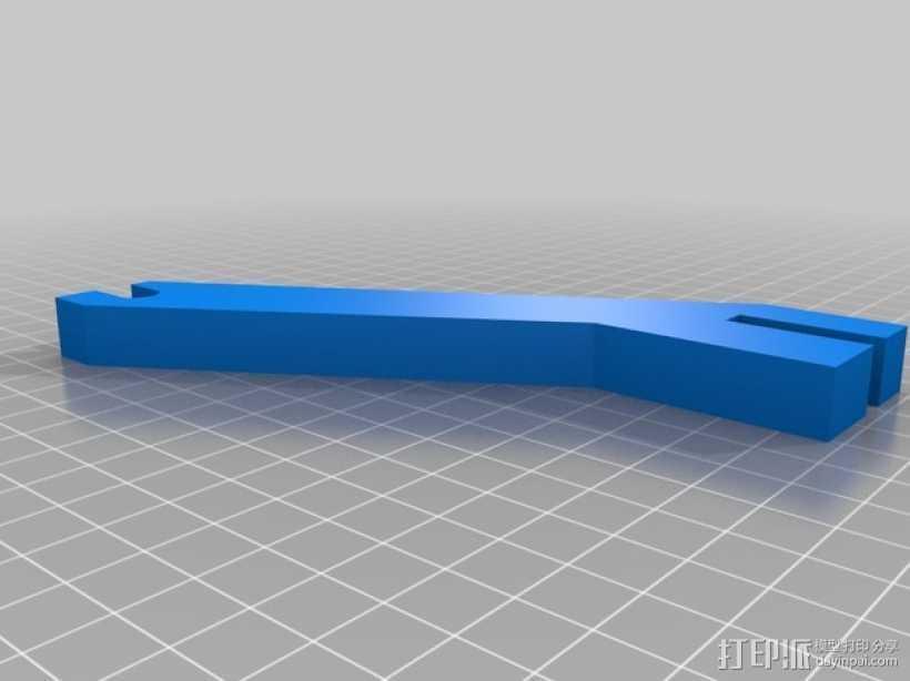 Prusa i3 线轴架 3D打印模型渲染图