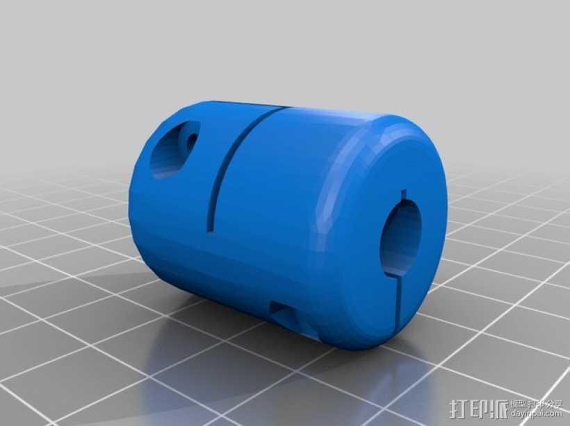 连接器 3D打印模型渲染图