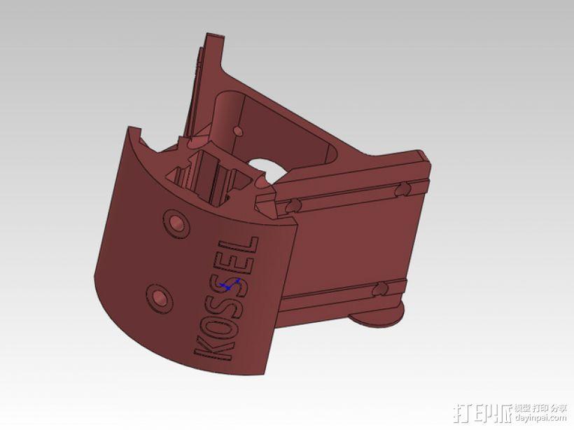 KOSSEL 2020 驱动器 3D打印模型渲染图