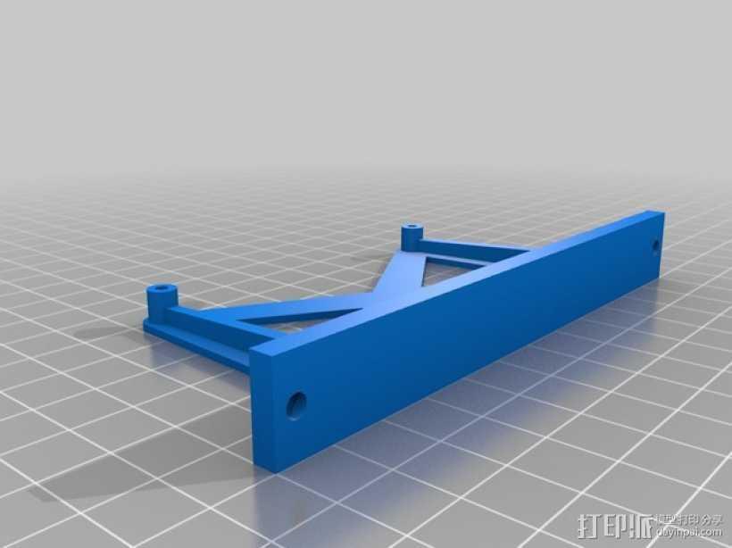 大型适配器 3D打印模型渲染图
